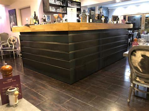 Le Comptoir Restaurant Grenoble by Comptoir De Bar En Acier Restaurant 224 Grenoble Demod Metal