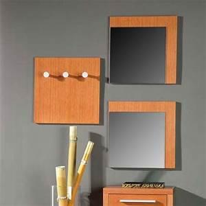 Meuble D Entrée Porte Manteau : meuble porte manteau avec miroir ~ Teatrodelosmanantiales.com Idées de Décoration