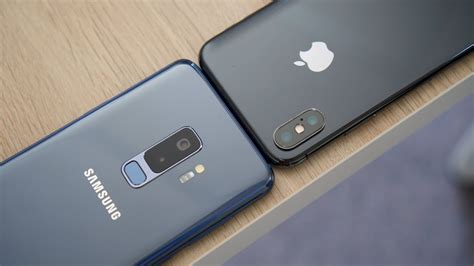 whats better iphone or galaxy samsung galaxy s9 vs iphone x comparison which is