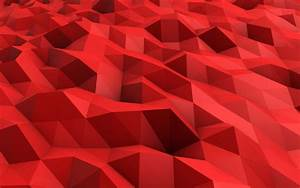 3D Red Abstract Wallpapers #4914 Wallpaper