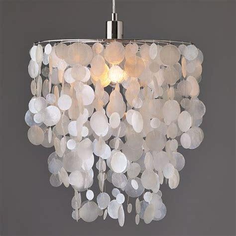 capiz shell chandelier diy schultz