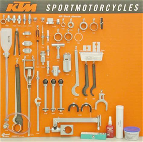 aomcmx ktm special tool kit wp shocks