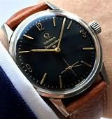 Vintage omega seamaster 30 black