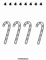 Candy Twistynoodle Many Cane Coloring sketch template