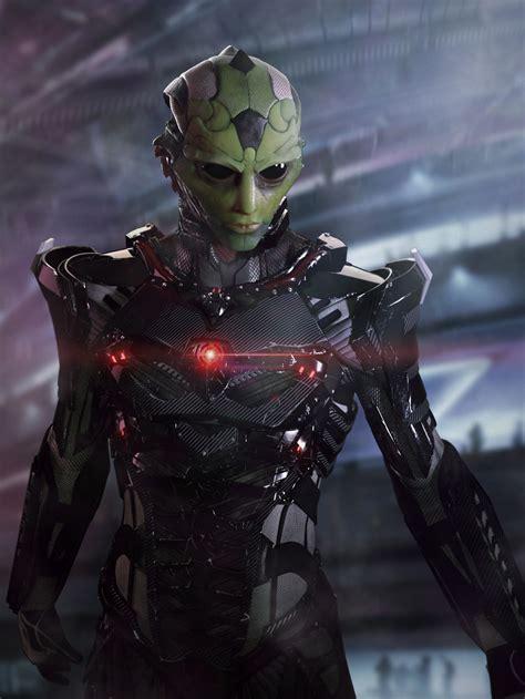 Cool Collection Of Mass Effect Fan Art — Geektyrant