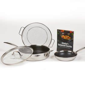 gibson home manta  piece stainless steel cookware set