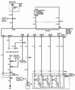 Electronic Power Steering System Schematic