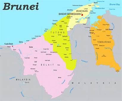 Brunei Karte Politische