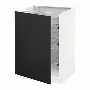 Ikea Metod Unterschrank : metod unterschrank mit drahtk rben 60x60 cm ikea ~ Watch28wear.com Haus und Dekorationen