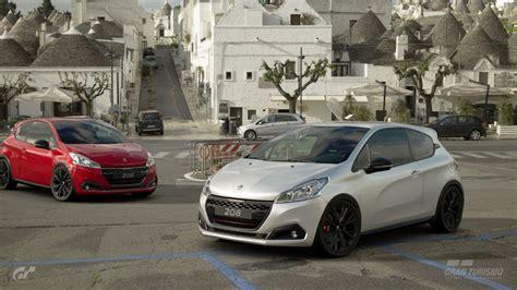 Peugeot Grand Sport by Peugeot 208 Gti By Peugeot Sport 2014 Gran Turismo Sport