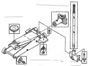 craftsman 2 ton floor jack parts model 21412400 sears