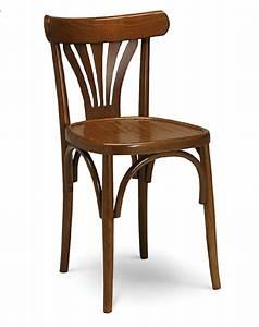 Chaise De Bistrot Bois : mobilier coulomb chaise bistrot bois mobilier int rieur de bar et restaurant chr chaise ~ Teatrodelosmanantiales.com Idées de Décoration
