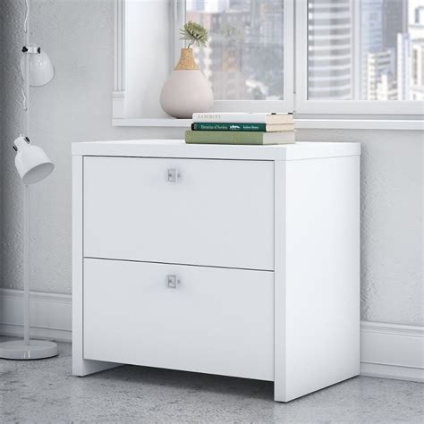 White Filing Cabinets by White 2 Drawer Lateral File Cabinet Echo Rc Willey