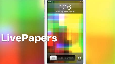 Cydia Animated Wallpaper - livepapers adds animated wallpaper to jailbroken devices