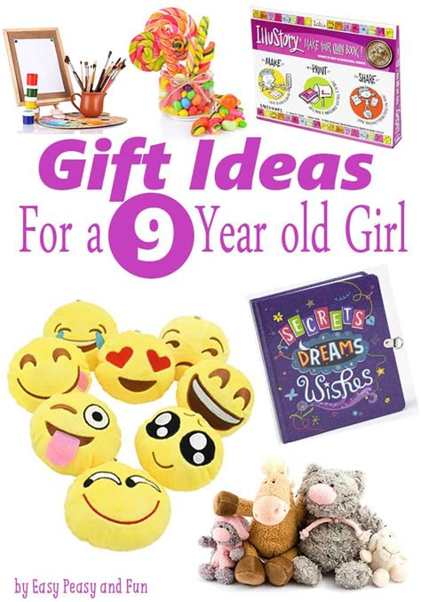 gifts for 9 year old girls easy peasy and fun