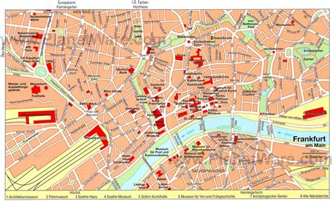 red light frankfurt map map  red light frankfurt