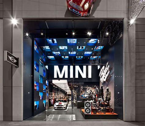 mini pop  store london westfield  behance