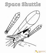 Space Shuttle Coloring Spaceship Exploration Sheet Playinglearning sketch template