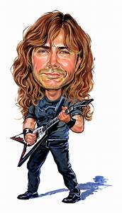 Dave Mustaine Painting by Art