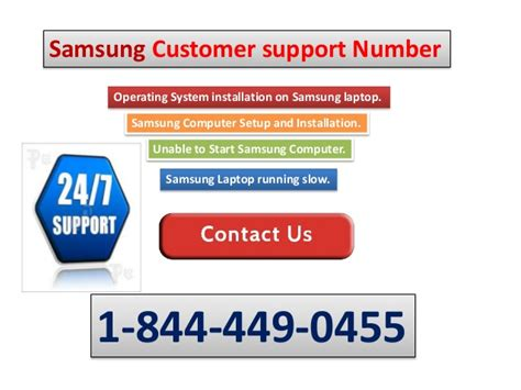 1 844 449 0455 samsung technical support phone number