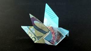 Geld Falten Mäuse Zum Verbraten : geldschein falten taube einfachen origami vogel mit geld falten diy geldgeschenk youtube ~ Orissabook.com Haus und Dekorationen