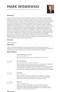 scientific objective resume
