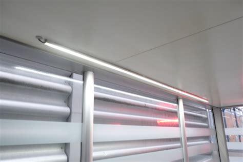 led lichtleiste outdoor raucherkabinen led lichtleiste