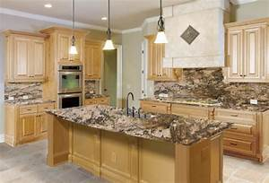 The Right Granite Countertops for your Maple Cabinet
