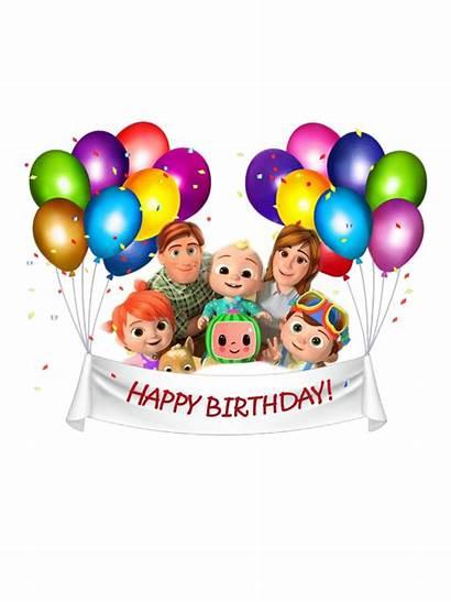 Cocomelon Birthday Theme Inspired Happy Picsart Decorations