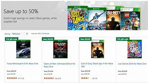 Xbox Game Prices Slashed Up To 50 In Microsoft Store