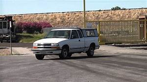 1998 Chevrolet S10 Pickup With Camper Shell