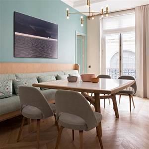 17 meilleures idees a propos de banquette de salle a With idee deco cuisine avec chaises salle À manger bois et tissu