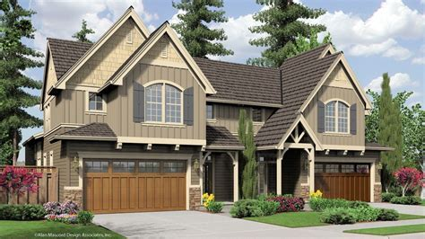 Craftsman House Plan 4037 The Whitman: 3541 Sqft, 3 Beds