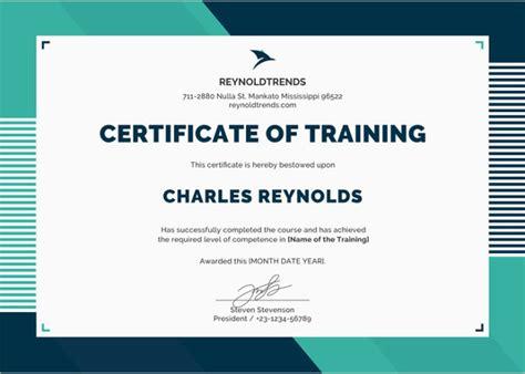 word certificate template    samples