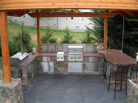 outdoor bbq contemporary patio seattle by