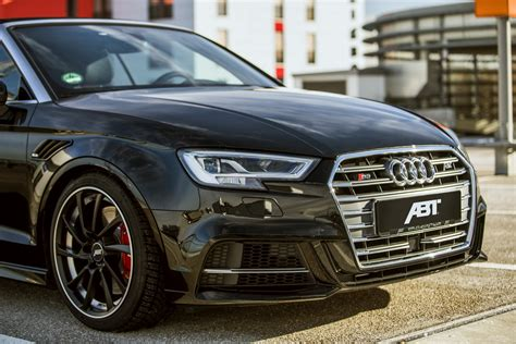 audi s3 tuning audi s3 cabrio by abt is an rs3 in disguise