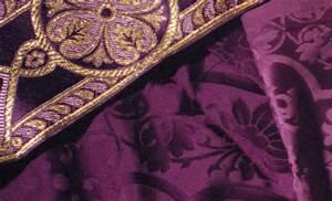 lent purple the catholic mass explained