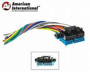 Plugs Into Factory Radio Car Stereo Wiring Harness Wire Reverse Fits Gm