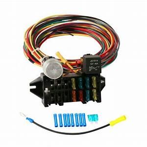 8 Circuit Wiring Harness Muscle Car Hot Rod Street Rod Rat