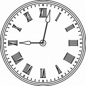Horloge Dory fr coloriages