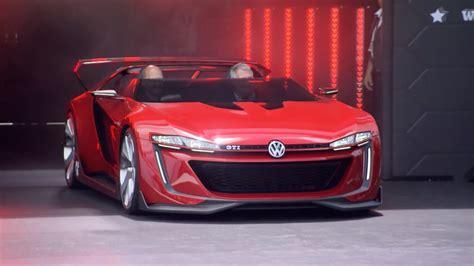 volkswagen gti roadster vision gran turismo golf