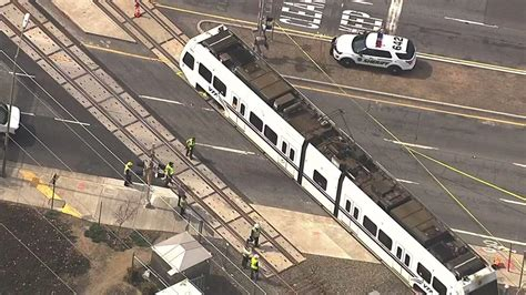 light rail san jose in hospital after being hit by eb vta light rail