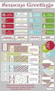 free printable holiday address labels worldlabel blog With holiday mailing labels