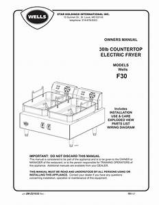 Wells F30 Wiring Diagram