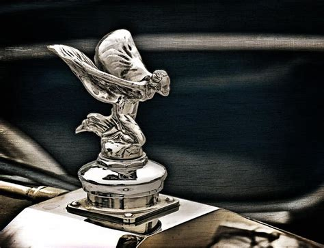 Rolls Royce Hood Ornament By Douglas Pittman Auto Hood