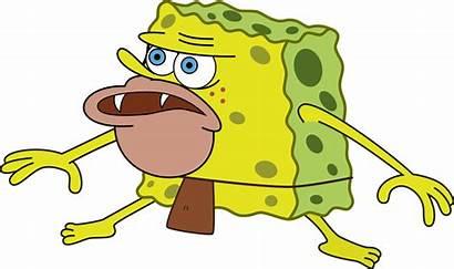Spongebob Meme Caveman Primitive Sponge Patrick Drawing