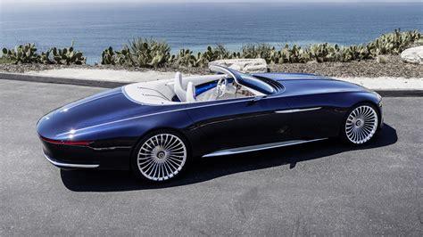 vision mercedes maybach  cabriolet top gear
