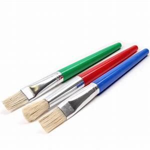 Kids Paint Brush Set 3 Pack Hobbycraft