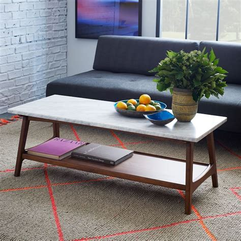 It's beautiful, sturdy, just the right size, great height, and exactly what we had hoped for. Stone Coffee Tables with Modern Style