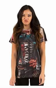Corset Zombie Women39s T Shirt I Ladies39 Fun Shirt With